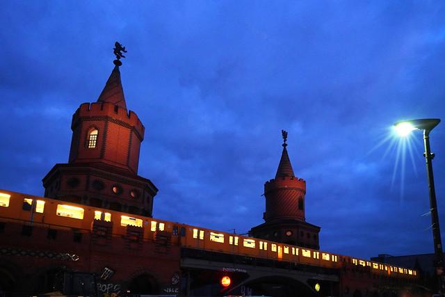 Berlin bei Nacht - mit U-Bahn