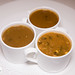 Soups 1-1-1 - demi serving of three soups: Turtle, Gumbo, and Soup du Jour