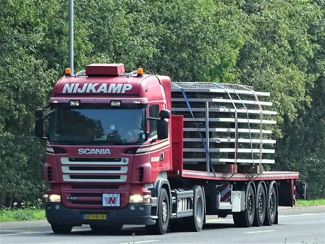 Scania R420 highline from Nijkamp Holland.