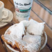 Frozen Cafe au Lait and beignets