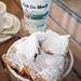 Frozen Cafe au Lait and beignets