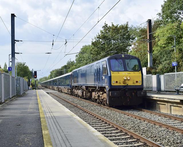 Belmond Grand Hibernian train seen here at Raheny 21/09/19