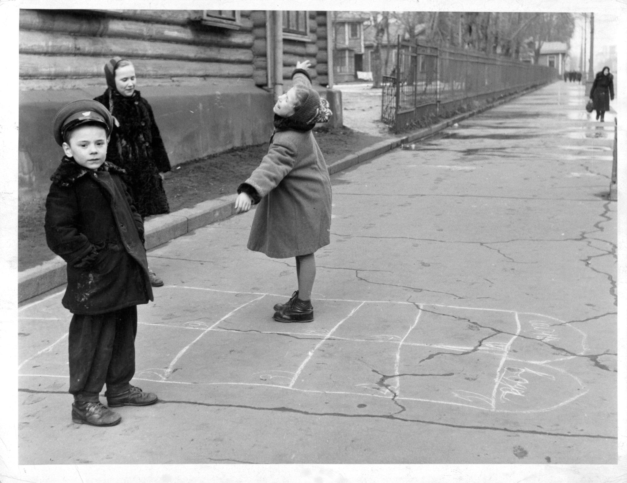 1957. Москва. Игра в классики