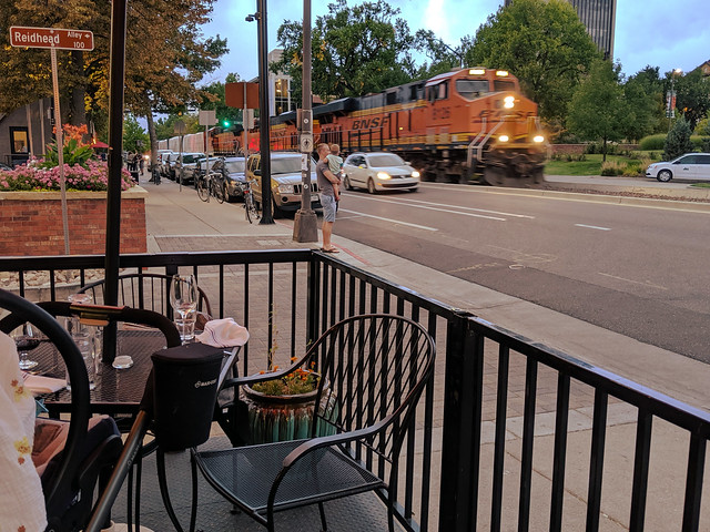 Train through Fort Collins