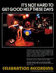 1979 celebration recording studio