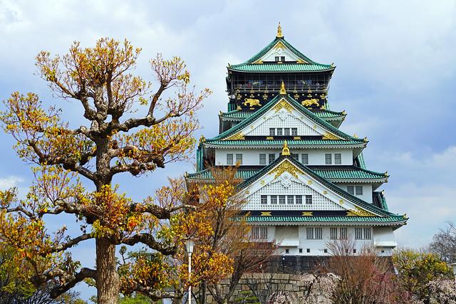 Magnificent Osaka Castle, Japan