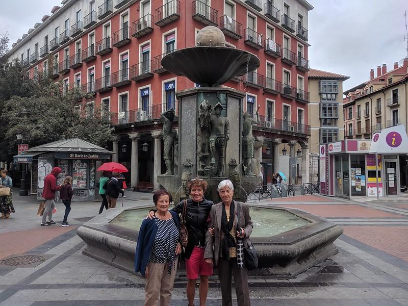 Plaza de Fuente Dorada de Valladolid