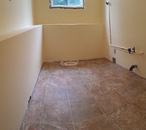 Laundry Room Floor 2019-09-22 13.37.38 | by rgdaniel