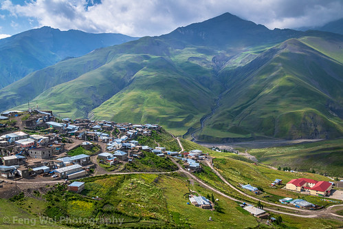 khinaliq azerbaijan traveldestinations tourism scenicsnature asia travel landscape remote caucasus outdoors colorimage beautyinnature horizontal eurasia mountain qubadistrict