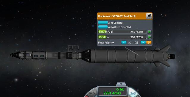 11 In orbit with extra fuel (j0k6dg)