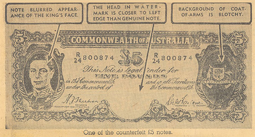 HOw to spot a counterfeit Australia note