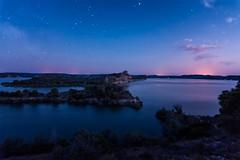 Mar de Aragon at night