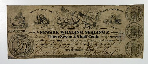 Newark Whaling and Sealing note