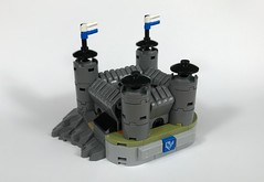 Hand castle