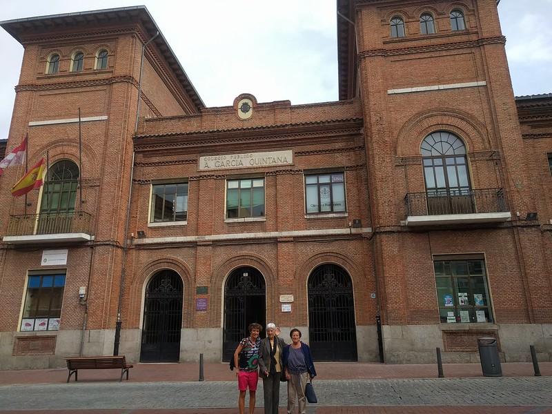 Fin de semana de Turismo en Valladolid con ama y tía
