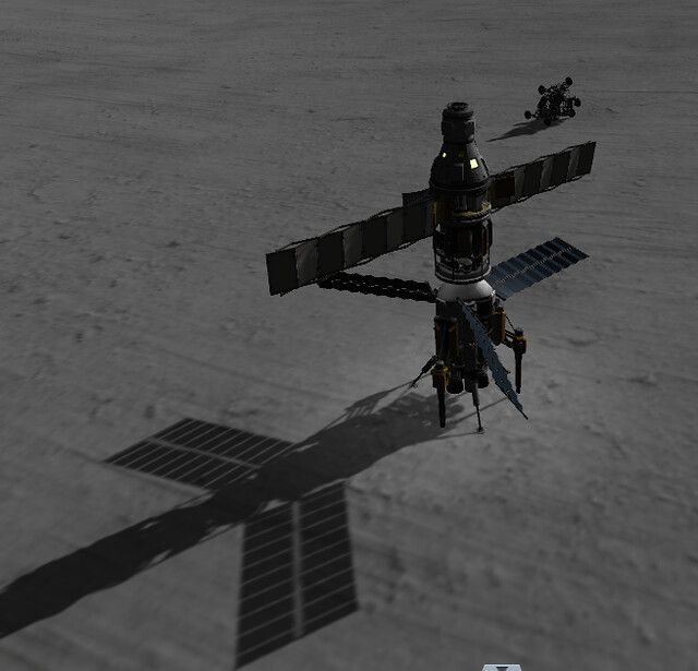 06 landed with rover dropped nearby (289kfi9)