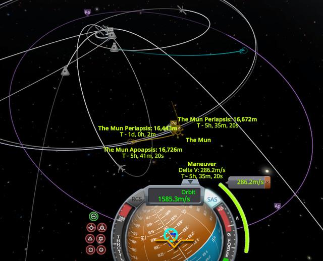 10 en route to mun capture burn (2cylcow)