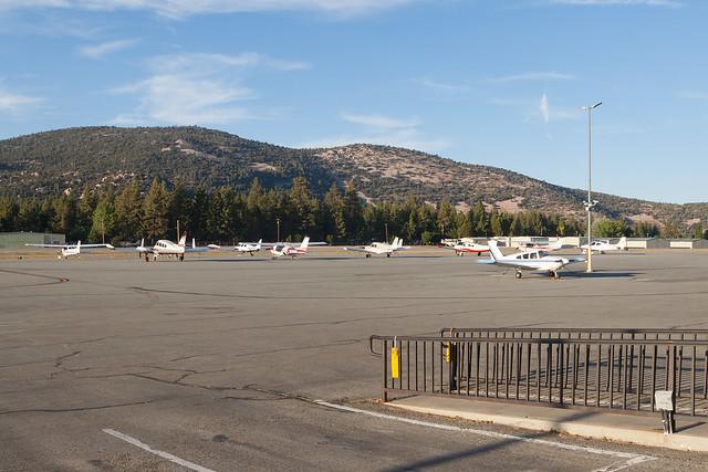 Ramp area, Big Bear City Airport