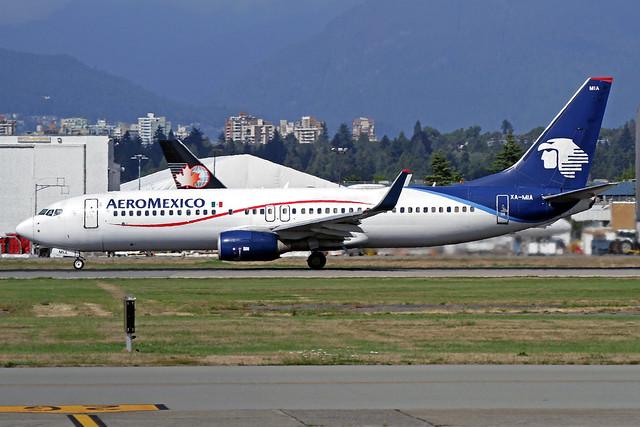 AeroMexico Boeing 737-852 XA-MIA YVR 01-09-19