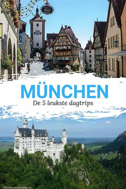 Dagtrips vanuit München: de 5 leukste dagtrips vanuit München | Mooistestedentrips.nl