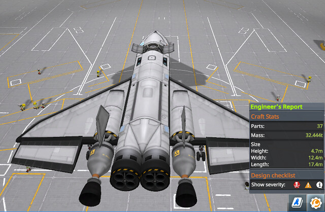 31 baby's first spaceplane - note lack of shock cones (fdulnc)