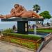 The Kiss sculpture at Park of Love - El Parque del Amor - Miraflores Lima Peru