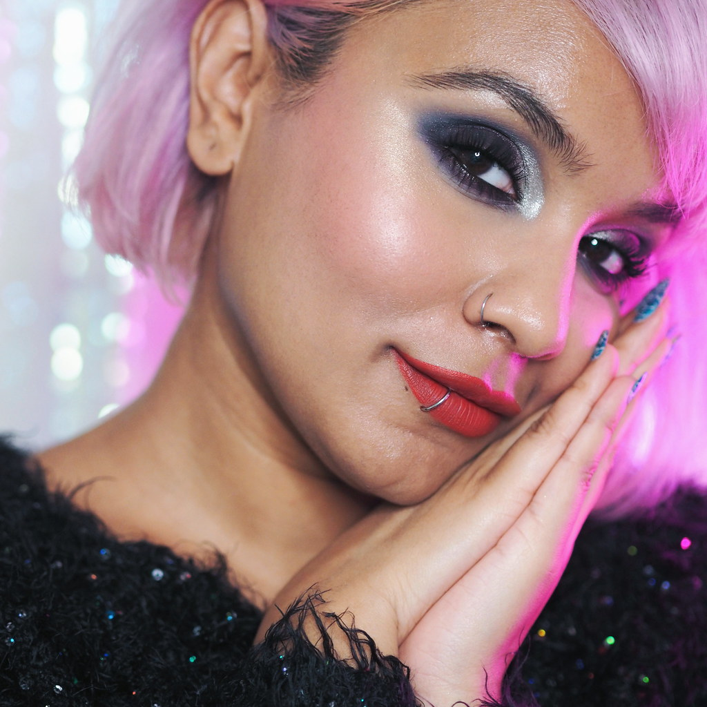 Lime Crime Venus Immortalis Review Makeup look Hail Unveil Ash