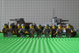 German Army Squad 1940