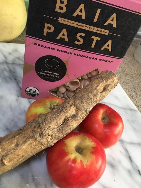 Baia Pasta/Red Gravenstein/Horseradish