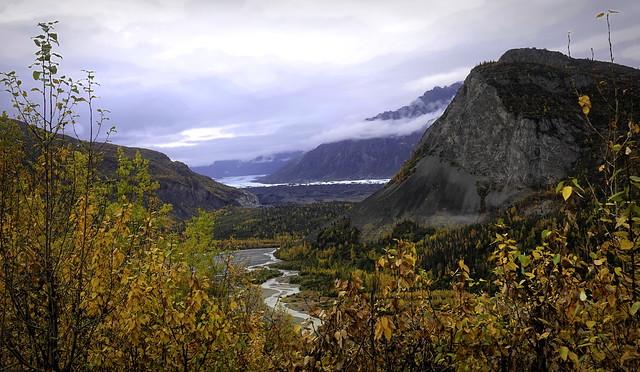 Matanuska River in Autumn - Alaska