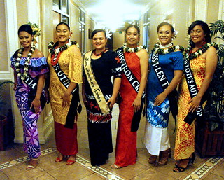 Miss American Samoa 2019 Contestants