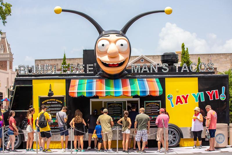 Bumblebee Man's Tacos