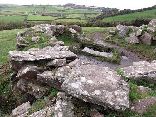 Cercle de pierres à Drombeg, Irlande