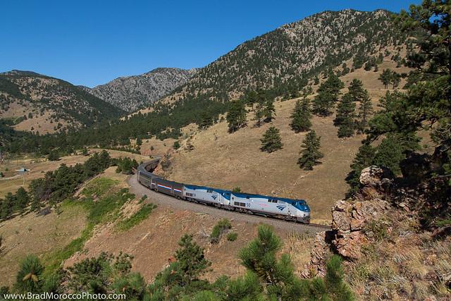 California Zephyr at Tunnel 1 - Arvada, Colorado