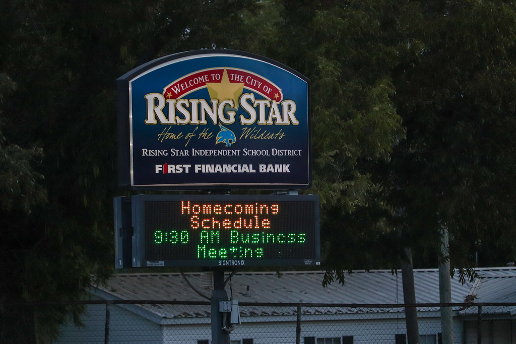 Welcome to the City of Rising Star, Home of the Wildcats. Rising Star Independent School District. First Financial Bank. Homecoming Schedule. 9:30 AM Business Meeting