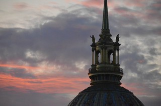 Looking to the skies in Paris