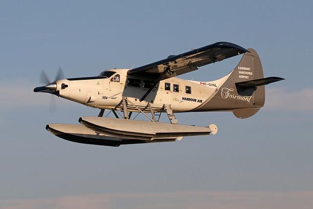 Harbour Air DHC-3 Turbo Otter, C-GVNL.