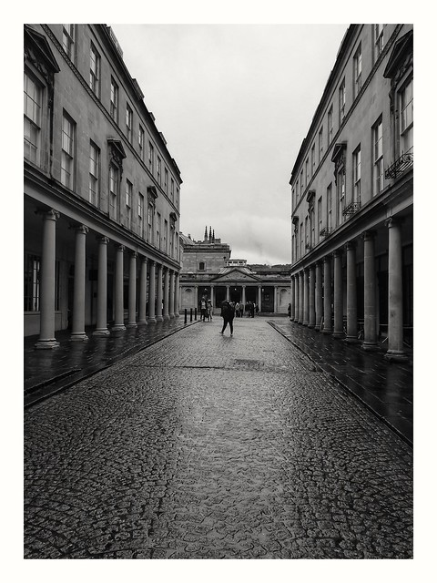Another rainy day in Bath.