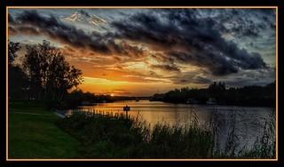 Sunrise in LaBelle Florida
