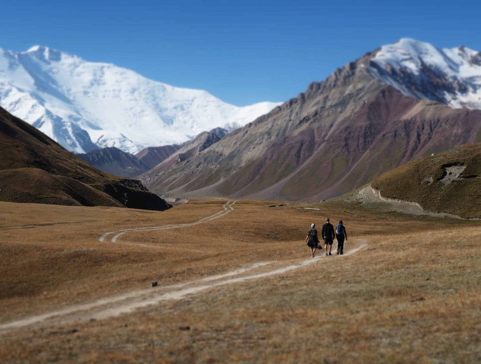 Kyrgyzstan – a little detour to a big mountain