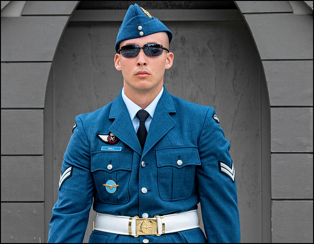 Corporal Wall on Guard
