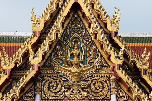 Narai on Garuda, Wat Ratchaburana Ratchaworawihan (Wat Liap)