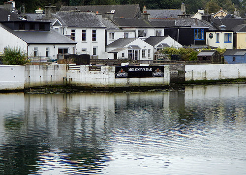 The waterfront in Union Hall, a small fishing village in Ireland
