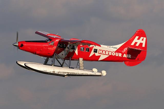 Harbour Air DHC-3 Turbo Otter, C-FODH