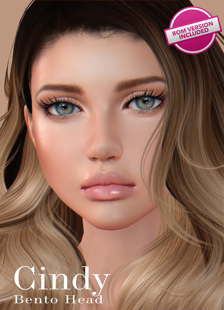 [AK] Cindy Deluxe head UPDATED to BOM