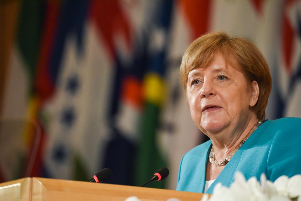 德國總理梅克爾(Angela Merkel)圖片來源:International Labour Organization(CC BY-NC-ND 2.0)