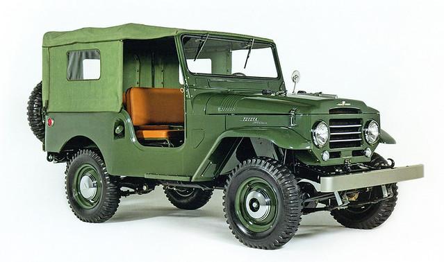Toyota Land Cruiser (20) '02.1955–04.1960