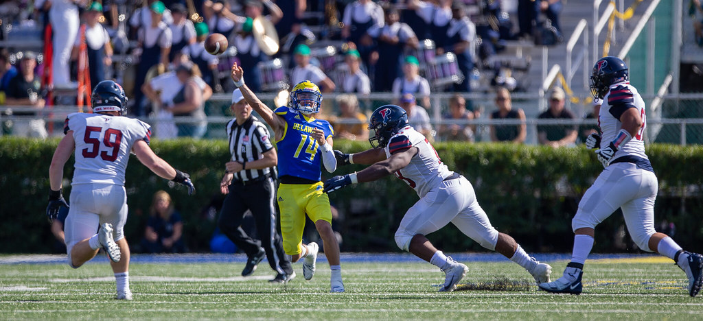 Former Smyrna star quarterback gets his chance to shine with Blue Hens