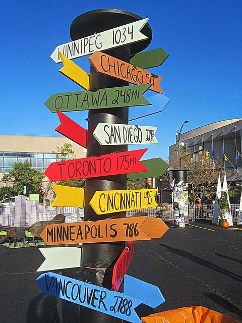 Fringe signposts