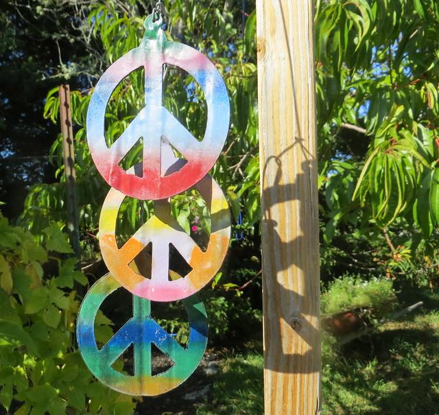 peace X 3